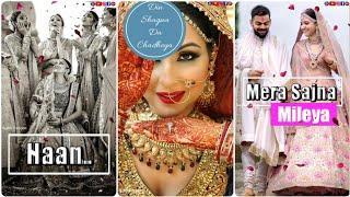 Wedding Special ???? (Female Version) New Full Screen WhatsApp Status Video ???? Female WhatsApp Sta
