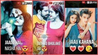 Jadu Hai Nasha Hai | Full Screen WhatsApp Status Video | Romantic | Female version | ????DV Creation