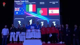 Karate 1 Final Female Team Kata Salzburg 2019