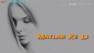 Naam E Wafa WhatsApp video Status ।।Female Special ।। DK Status