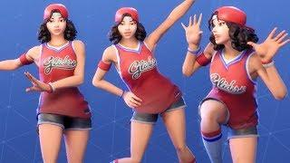 Fortnite Triple Threat Performs All Dances NEW Female NBA Costume/Outfit - Half Court Gear