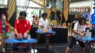 Sport Stacking: SG Nationals 2018 - Female Stack Out