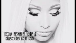 Most Hot 100 Entries | Female Artists (1958 - 2018)