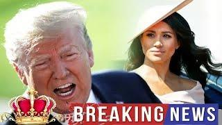 Royal Style -  Donald Trump called Meghan Markle 'NASTY' - what did Duchess say about the president?
