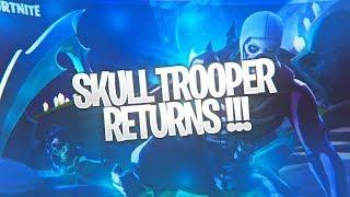*NEW* SKULL TROOPER RETURNS + BONE CHILLING SET | FEMALE SKULL TROOPER OUT NOW !!!