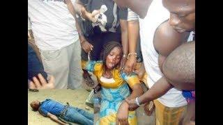 CCTV CATCHES FEMALE THIEF IN RCCG CHURCH NIGERIA
