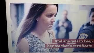 MGTOW:Female teacher gets to keep teacher certificate and no jail time after oral sex with 14 yr.old