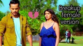 New breakup whatsapp status video | breakup status female version  | Sad status female
