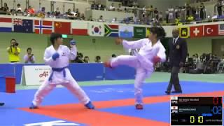 FINAL. Female Kumite -50kg. 2018 FISU World University Karate Championships