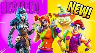 *NEW* FEMALE RAGNAROK SKIN & JOKER SKINS! FORTNITE NEW LEAKED ITEMS!