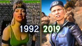 Sonya Blade Evolution in Mortal Kombat | MK1 to MK11