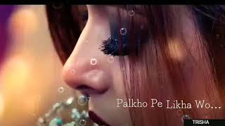 New what's app status video // female version sad status // neha kakkar //Aankho ko nasha hh