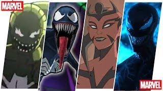 She Venom/Carnage Evolution in Movies, Cartoons & Games