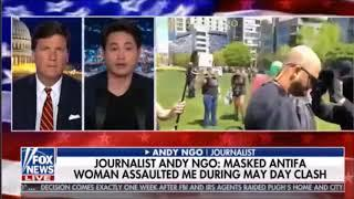 Journalist Attacked, Woman Knocked Out At Antifa Protests As Portland Police Stand By