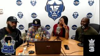 JADA RAYE LIVE ON QUEENS OF BATTLE RAP SHOW