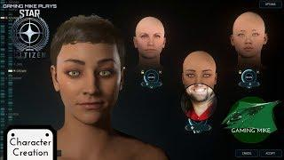 Character Creation | Female and Male Options | Star Citizen 3.5.0