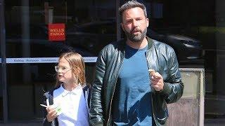 Ben Affleck Takes The Kids As Jennifer Garner Promotes Revenge Thriller Peppermint