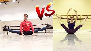 MALE vs FEMALE BALLET DANCERS