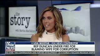 Four female Fox News panelists DESTROY Duncan Hunter