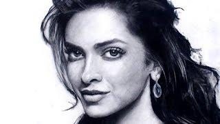 Drawing Deepika Padukone - Female Portrait Video