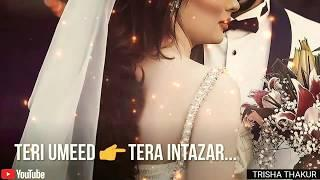 Teri Umeed Tera | Intazar Karte Hain | Female | Romantic | WhatsApp Status Video | 30 Sec | Lyrics