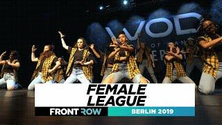 Female League | FRONTROW | Team Division | World of Dance Berlin 2019 | #WODBER19