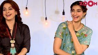 Juhi Chawla & Sonam Kapoor share views on the trend of Female led Bollywood films