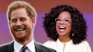 Prince Harry & Oprah Winfrey To Team Up For New TV Series