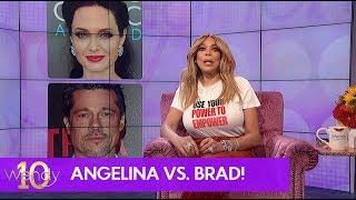 Brad & Angelina's Custody Battle Drama