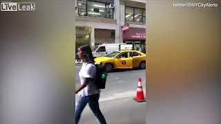 NYC female cab driver charged in road rage brawl