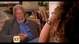 Morgan Freeman Old Interview Footage With Female Reporter