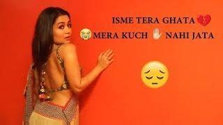 Tera Ghata - Neha kakkar Sad WhatsApp Status Video !! Female Cover version !! Bnsu Baba