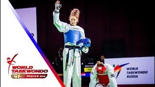 Moscow 2018 World Taekwondo GP -Final [Female –67Kg] JELIC, MATEA(CRO) vs WILLIAMS, LAUREN(GBR)