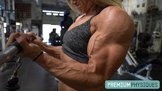 Massive Female Muscle - Paige Sandgren at PremiumPhysiques!