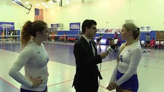 Women's Volleyball Post Game Interviews vs. NJIT 8/31/18