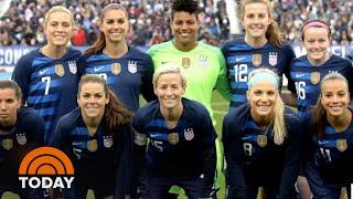 US Women's Soccer Players Speak Out On Gender Discrimination Suit | TODAY