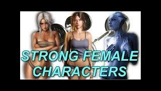 Strong, Beautiful Video Game Female Characters!