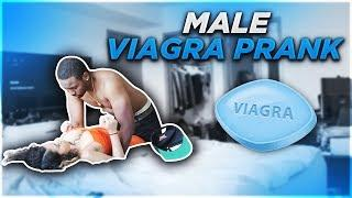 EXTREME MALE V.I.A.G.R.A PRANK ON EX-BOYFRIEND!!! (LEADS TO SOMETHING ELSE)