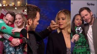 Chris Pratt Can't Stop Flirting With His Female Co-Stars