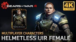 Gears of War 4 - Multiplayer Characters: Helmetless UIR Female