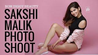 Sakshi Malik Model Photoshoot | Bom Diggy Girl | Indian Female Model Poses