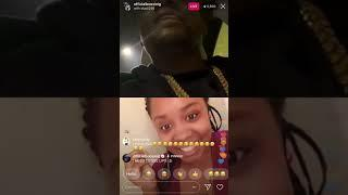 Lil Boosie Forces A Female to Show her ass On Instagram Live !