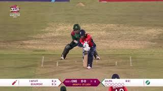 England v Bangladesh - Women's World T20 2018 highlights