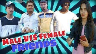Male V/S Female Friends (Short video ) By Funk Bazz