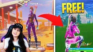 "How To Get FREE ""Female Galaxy Skin"" NOW in Fortnite!"