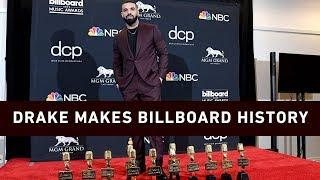 Drake makes Billboard Music Awards history