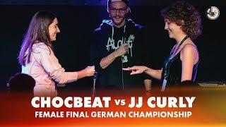 CHOCBEAT vs JJ CURLY | FEMALE FINAL | German Beatbox Championship 2018