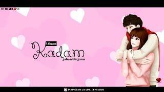 Female version sad +love WhatsApp status video||Vaaste girl status||new sad girl status