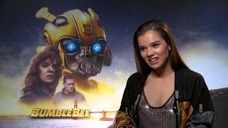 "Hailee Steinfeld likes challenging ideas about ""young female characters""..."