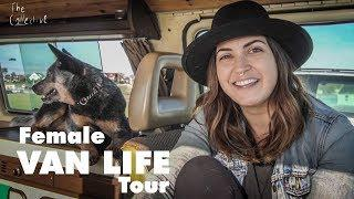 Solo Female Van life Tour! // Minimalist Yogi + Dog choose Van Life.